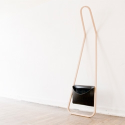 Servus / r75 minimalist clothing rack by Florian Saul.