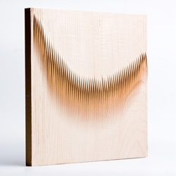 WOODwave paneling by Eliza Mikus and Nóra Németh.