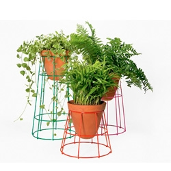 First Object series of planters for Casa Bosques designed by Jorge Diego Etienne in collaboration with Savvy Studio.