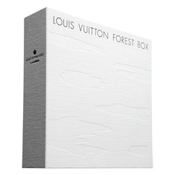 Beautiful multimedia box set from Louis Vuitton Japan for environmental conservation initiative more trees.