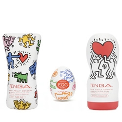 Tokyo-based company Tenga is coming out with Keith Haring male sex toys.