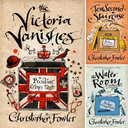 6 tales from UK's Peculiar Crimes Unit illustrated by Inkymole.  'The Victoria Vanishes', the first one, is out now in hardback.