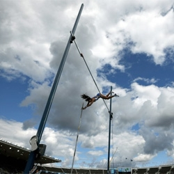 Wired Science physicists on how pole vaulters go over the top.