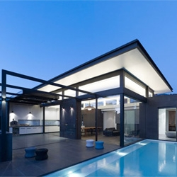 Steve Domoney Architecture's Power Street residence in Hawthorn, Victoria, Australia.