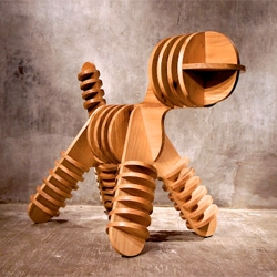 "Jagnus Design Studio's take on Eero Aarnio's Magis Puppy Chair, ""Stray""."