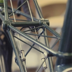 Gorgeous look inside England's Moulton Bicycle Company by WellPlastic Films.