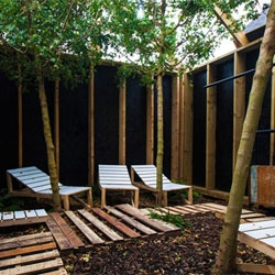 The Barking Bathhouse, an experimental spa and bar bringing everyday luxury and relaxation to Barking Town Centre for 8 weeks. Commissioned by Arts Agency CREATE and designed and produced by Something & Son.