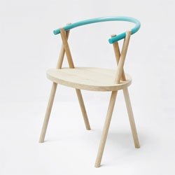 Stuck Chair by Stefan Tervoort and Pim Snijdoodt of Oato Design.