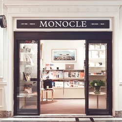 A new London shop for Monocle within the Hyatt Regency Hotel.