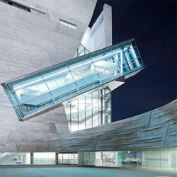 Perot Museum of Nature and Science by Morphosis in Dallas, Texas.