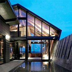 The beautiful Villa SSK by Takeshi Hirobe Architects.