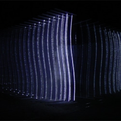 ISOTOPES, an audiovisual installation from Nonotak  (Noemi Schipfer and Takami Nakamoto).