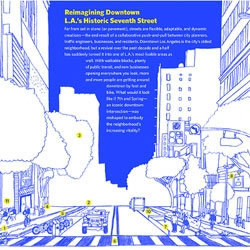 Reimagining downtown LA's 7th street, beautiful collaboration from GOOD/Corps and Bijan Berahmi with L.A. DCP.
