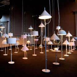 Nendo. Illuminated for Wästberg at Stockholm Design Week.