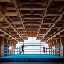 Gorgeous Tokyo Archery Hall and Boxing Club