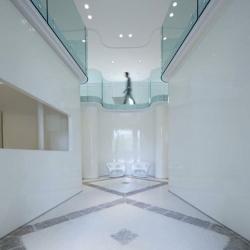 Gorgeous offices of  Rubens Luciano's in Villa Gritti, Stra, near Venice designed by architect Simone Micheli.
