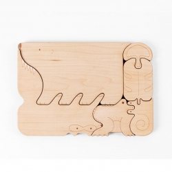 Chomp, a series of food-chain puzzles from Mirim Seo.
