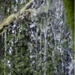 """""""Water Rock"""", a rock version of Pachelbel's Canon composed of 700 samples of dripping water recorded from the riverhead in Kumamoto, Kyushu. Created by Morihiro Harano and Mori Inc for Sony."""