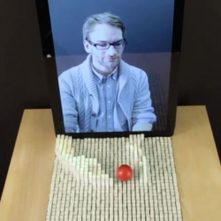 MIT's tangible media lab unveil the inFORM, a surface that three-dimensionally changes shape, so users can interact with digital information in a tangible way. inFORM can also interact with the physical world around it.