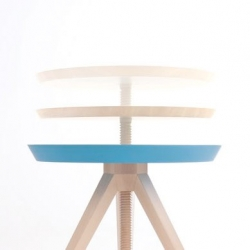 The Giros Table by Cristian Reyes. It's surface rotates to reveal a secondary surface.