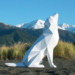 Ben Foster's incredible geodesic animal sculptures.