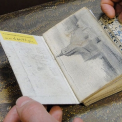 Take a look inside the sketchbooks of Vincent VanGogh through Molly Oldfield's The Secret Museum.