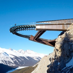 The glacier discovery walk by Sturgess Architects in Canada's Jasper National Park.