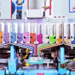 Wired take a look at how a Crayola Crayon is made in Process Crayola.