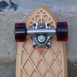 The Grain skateboard by Flint Design Studio.