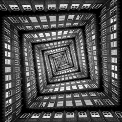 Escher-esque images by photographer Markus Studtmann.