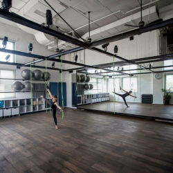 The Powerhouse KL Pilates Studio by Ramat HaSharon of Jacobs-Yaniv for paralympian Keren Leibovitch.