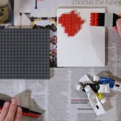 Paint. A Short Lego Film by Jon Rolph.