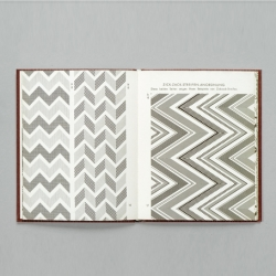 The reissued Geometric Patterns Book originally published in Germany in 1959. Check out the accompanying Nature Patterns Book too.