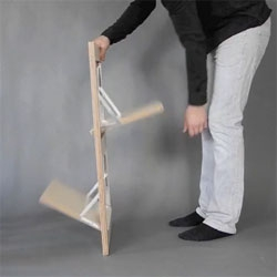 Fläpps Folding Chair by Malte Grieb.