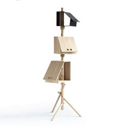 Kristina Kjær Hansen's 'Birdstick' storage unit.