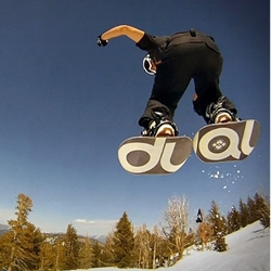 Dual Snowboards gives users a freedom never possible with a regular snowboard.