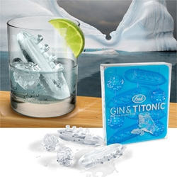 Playful new ice cubs from Fred ~ Gin & Titonic