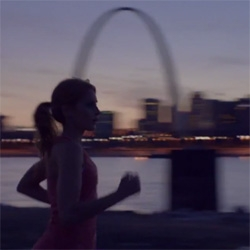 'I would run to you' a charming new ad for Nike from Wieden + Kennedy Portland.