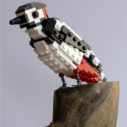 British Birds made from LEGO in this series by DeTomaso Pantera.