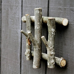 Core77 on turning old branches into household hooks.
