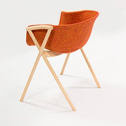 The Bai Dining Chair by Ander Lizaso.
