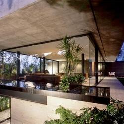 The beautiful House La Punta by Central de Arquitectura in Bosques de las Lomas, Mexico.
