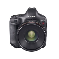 Canon has developed 'EOS-1D C', the world's first DSLR capable of capturing video in 4K (4096 x 2160-pixels) at 24p or in full HD at 60p.