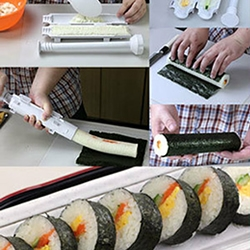 Sushi Bazooka! Sushi made easy...you can now make restaurant-quality sushi at home!