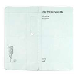 AGUA design's seed book notebooks remind us that we're all the curators of our observations and lives.