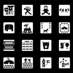 VirusFonts launches a new Olympic pictogram series for London 2012, Olympukes 2.