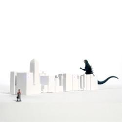 The Lonely City USB Hub designed by David Weeks Studio for Kikkerland.