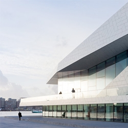 The EYE Film Institute in Amsterdam by Delugan Meissl Associated Architects.