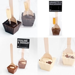 Chocolate Company's hotchocspoons look so fun!