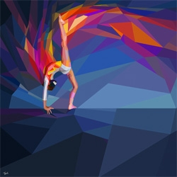 2012 Olympic Games Illustrations by Charis Tsevis for Yahoo.